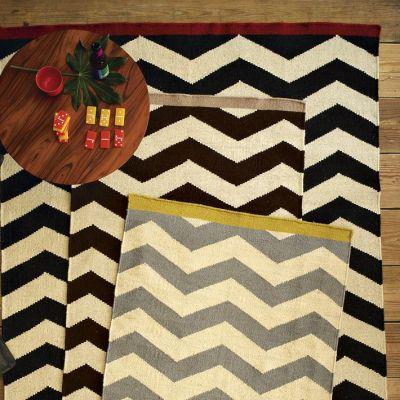 westelm.com Zigzag Wool Rug