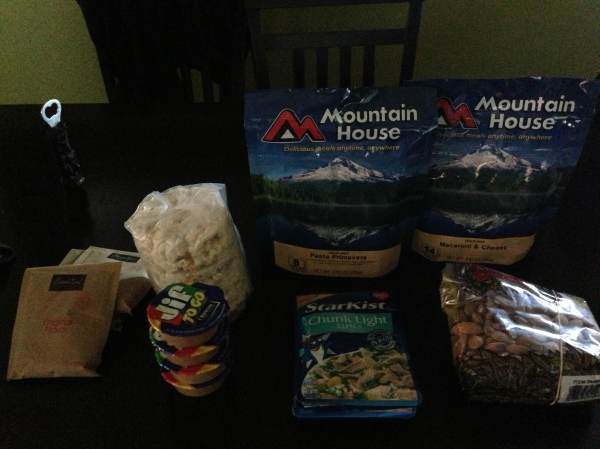 Blanca Lake Food