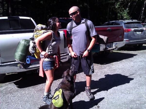 Pretty sure that I'm asking my hubby to carry my pack for me.