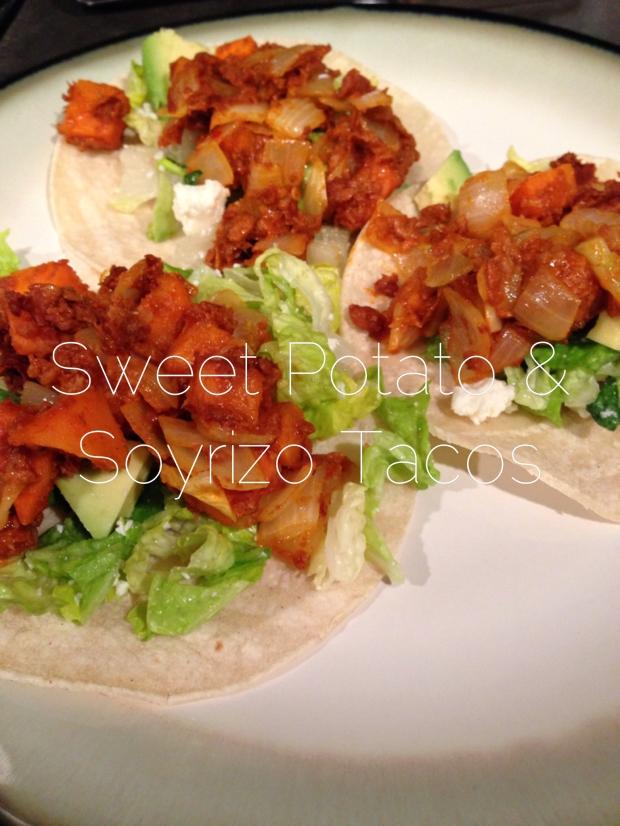 Sweet Potato & Soyrizo Tacos